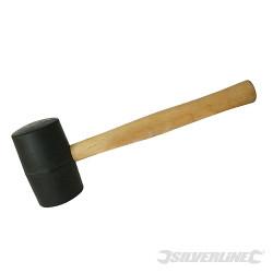 Maillet caoutchouc noir 454 g