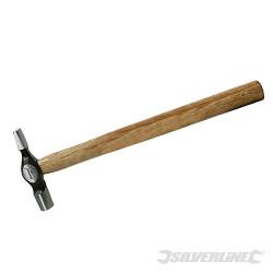 Marteau de tapissier panne en travers manche bois dur 4 oz (113 g)