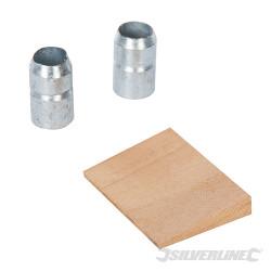 Lot de 3 coins pour marteau 4,54 - 6,35 kg