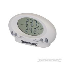 Thermomètre d'intérieur/extérieur -50 °C à + 70 °C