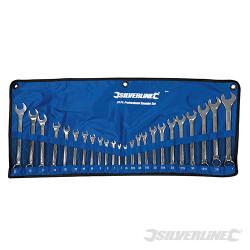 Trousse de 24 clés mixtes 6 - 22 mm et 1/4 - 1