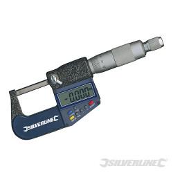 Micromètre d'extérieur numérique 25 mm
