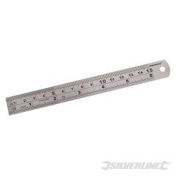 Réglet en inox 150 mm
