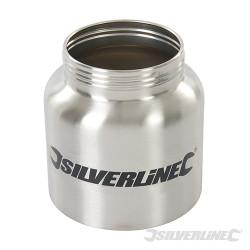 Réservoir en métal 800 ml pour pulvérisateur HVLP Réservoir en métal 800ml