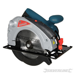 Scie circulaire Silverstorm 185 mm 1400 W avec guide laser 185 mm
