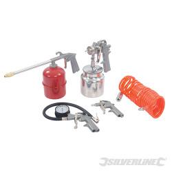 Coffret 5 accessoires pour outils pneumatiques 5 pcs