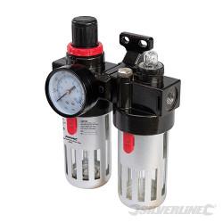 Filtre régulateur lubrificateur pour air comprimé 150 ml
