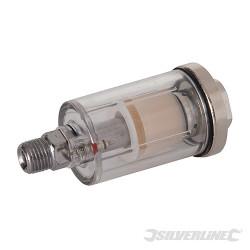 Mini-filtre pour air comprimé 6,35 mm BSPT
