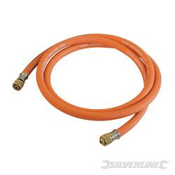 Tuyau à gaz avec connecteurs 2 m