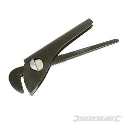 Pince serre-tube une main Long. 175 mm - Mâch. 40 mm