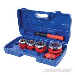 Coffret de filières de plombier 13, 19, 25 et 32 mm
