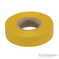 Ruban isolant 19 mm x 33 m, Jaune