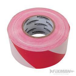 Ruban de balisage 70 mm x 500 m Rouge/Blanc