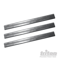 Lot de 3 fers de rabot 180 mm TPL180PB Fers de 180 mm / 7
