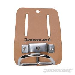 Porte-marteau en cuir pour ceinture 100 x 50 mm