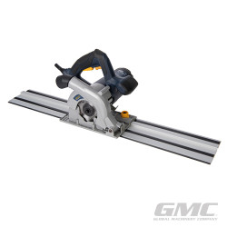 Scie circulaire plongeante compacte 110 mm avec kit rail de guidage GTS1500