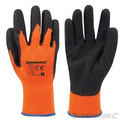 Gants haute visibilité orange Large
