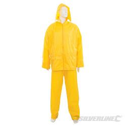 Tenue imperméable jaune 2 pcs XXL 79 - 138 cm cm