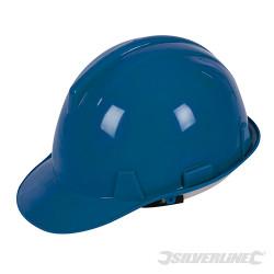 Casque dur de sécurité Bleu