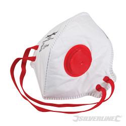 Masque respiratoire pliable à valve FFP3 NR FFP3 NR, une unité