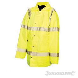 Manteau haute visibilité classe 3 XL 108-116cm (42-46