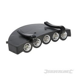 Lampe pour visière LED 5 LED