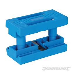 Coupeuse de bandes pour laminés double lame 13 - 25 mm