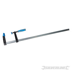 Serre-joint en F résistant (grande capacité) 1000 x 120 mm